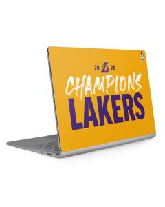 2020 Champions Lakers Surface Book 2 15in Skin