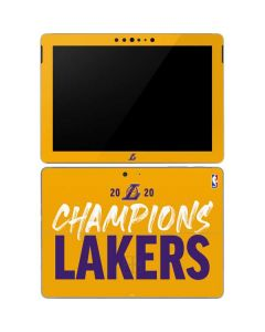 2020 Champions Lakers Surface Go Skin
