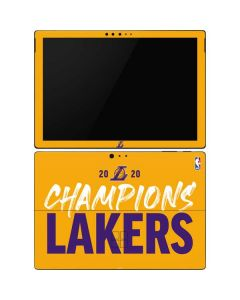 2020 Champions Lakers Surface Pro 6 Skin