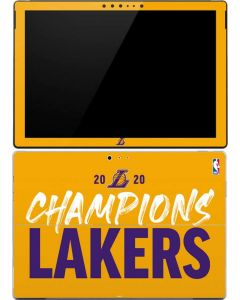 2020 Champions Lakers Surface Pro (2017) Skin