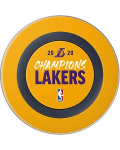 2020 Champions Lakers Wireless Charger Skin