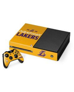 2020 Champions Lakers Xbox One Console and Controller Bundle Skin