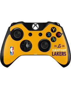 2020 Champions Lakers Xbox One Controller Skin