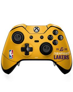2020 Champions Lakers Xbox One Elite Controller Skin