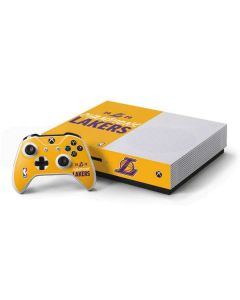 2020 Champions Lakers Xbox One S Console and Controller Bundle Skin
