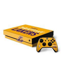2020 Champions Lakers Xbox One X Bundle Skin