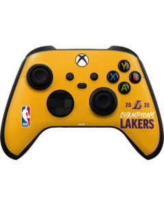 2020 Champions Lakers Xbox Series X Controller Skin