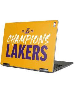 2020 Champions Lakers Yoga 710 14in Skin