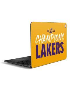 2020 Champions Lakers Zenbook UX305FA 13.3in Skin