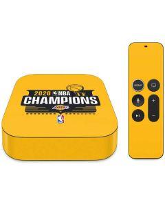2020 NBA Champions Lakers Apple TV Skin
