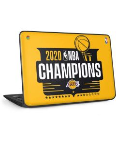 2020 NBA Champions Lakers HP Chromebook Skin