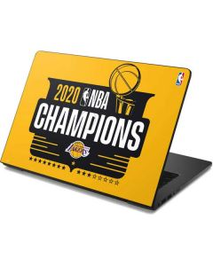 2020 NBA Champions Lakers Dell Chromebook Skin