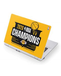 2020 NBA Champions Lakers Acer Chromebook Skin