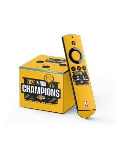 2020 NBA Champions Lakers Fire TV Cube Skin