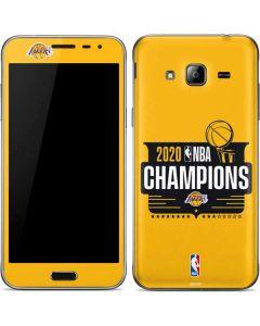 2020 NBA Champions Lakers Galaxy J3 Skin