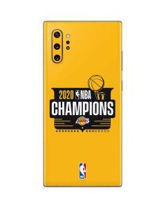2020 NBA Champions Lakers Galaxy Note 10 Plus Skin