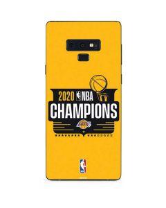2020 NBA Champions Lakers Galaxy Note 9 Skin