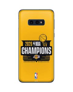 2020 NBA Champions Lakers Galaxy S10e Skin