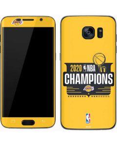 2020 NBA Champions Lakers Galaxy S7 Skin