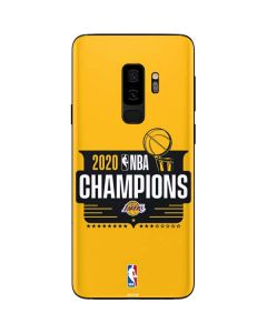 2020 NBA Champions Lakers Galaxy S9 Plus Skin