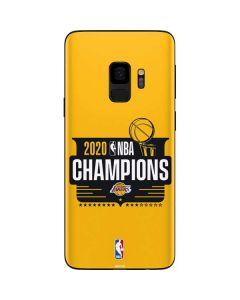 2020 NBA Champions Lakers Galaxy S9 Skin