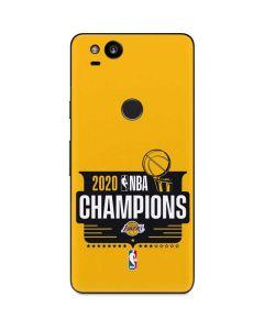 2020 NBA Champions Lakers Google Pixel 2 Skin