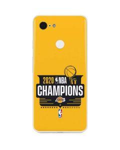 2020 NBA Champions Lakers Google Pixel 3 Skin