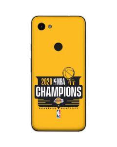 2020 NBA Champions Lakers Google Pixel 3a XL Skin