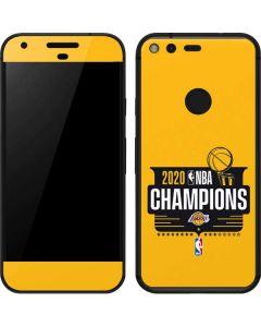 2020 NBA Champions Lakers Google Pixel XL Skin
