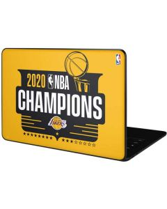 2020 NBA Champions Lakers Google Pixelbook Go Skin
