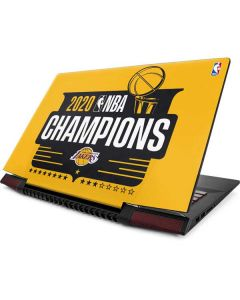 2020 NBA Champions Lakers Lenovo IdeaPad Skin