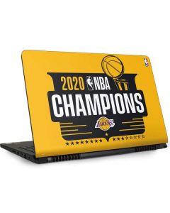 2020 NBA Champions Lakers Dell Inspiron Skin