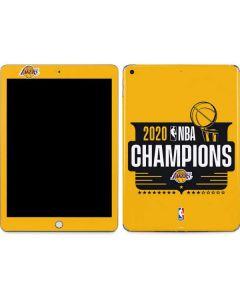 2020 NBA Champions Lakers Apple iPad Skin