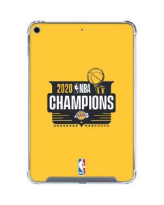 2020 NBA Champions Lakers iPad Mini 5 (2019) Clear Case