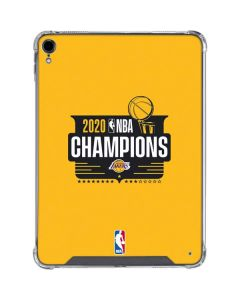 2020 NBA Champions Lakers iPad Pro 11in (2018-19) Clear Case