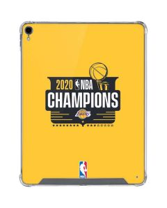 2020 NBA Champions Lakers iPad Pro 12.9in (2018-19) Clear Case