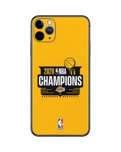2020 NBA Champions Lakers iPhone 11 Pro Max Skin