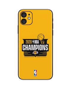 2020 NBA Champions Lakers iPhone 11 Skin