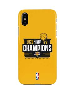 2020 NBA Champions Lakers iPhone XS Max Lite Case