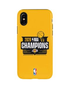 2020 NBA Champions Lakers iPhone XS Max Pro Case