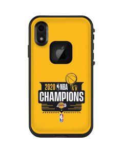 2020 NBA Champions Lakers LifeProof Fre iPhone Skin