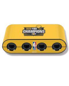 2020 NBA Champions Lakers Nintendo GameCube Controller Adapter Skin