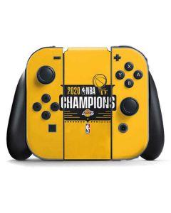 2020 NBA Champions Lakers Nintendo Switch Joy Con Controller Skin