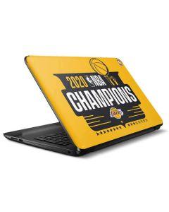 2020 NBA Champions Lakers HP Notebook Skin