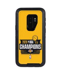 2020 NBA Champions Lakers Otterbox Defender Galaxy Skin