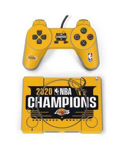 2020 NBA Champions Lakers PlayStation Classic Bundle Skin