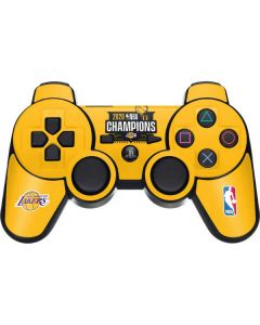 2020 NBA Champions Lakers PS3 Dual Shock wireless controller Skin