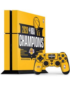 2020 NBA Champions Lakers PS4 Console and Controller Bundle Skin