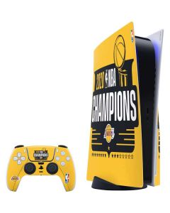 2020 NBA Champions Lakers PS5 Bundle Skin