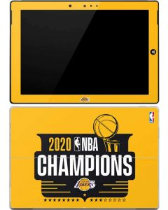 2020 NBA Champions Lakers Surface 3 Skin